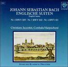 Bach: English Suites Nos. 4-6 (CD, Apr-1995, Blue Saphir)