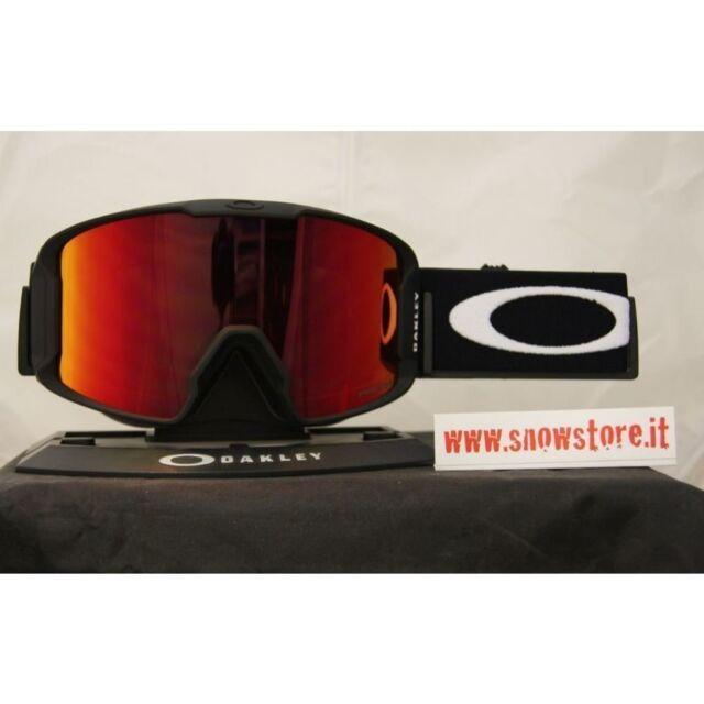 f3a23a764009 OAKLEY LINE MINER MATTE BLACK PRIZM TORCH IRIDIUM MASK SKI SNOWBOARD GOGGLES