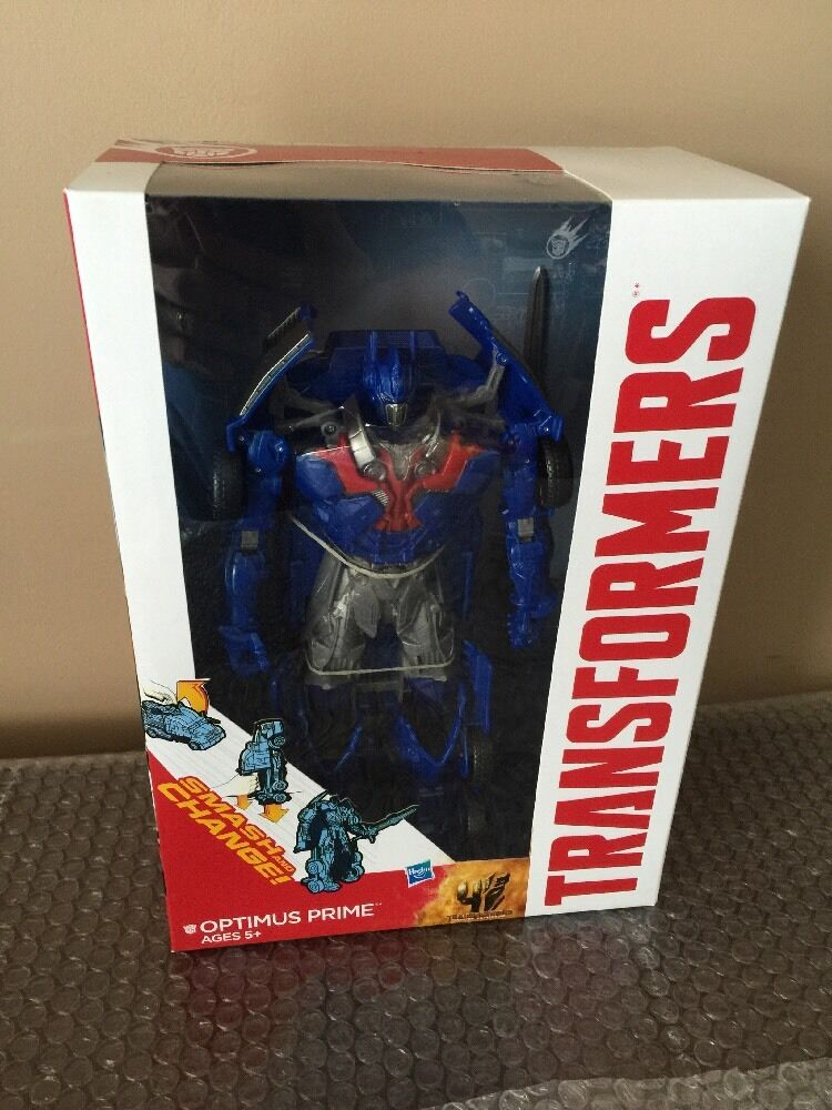 Transformers Age Of Extinction Smash And Change Optimus Prime Figure Toy NEW
