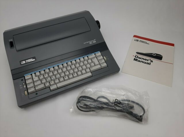 Smith Corona Sc125 Typerwriter Spell Right Dictionary W