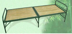 bamboo-foldable-bed-steel-frame-strong-firm-durable-light-cool-healthyNatural