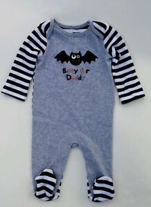1459545d8 Baby Boy Koala Kids 0-3M Bat Daddy Footed Sleeper Clothes Halloween ...