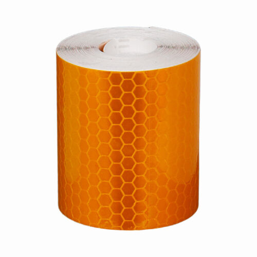 1 Roll Reflective Safety Sticker Reflector Tape For Bike Night Safety Warning