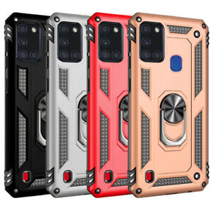 Samsung-Galaxy-A21S-Phone-Case-Hybrid-Shockproof-Armor-tempered-glass-option