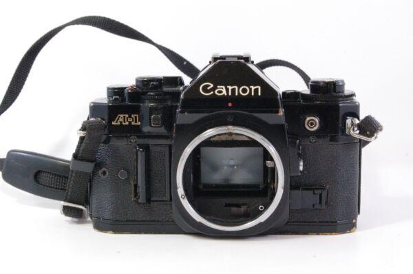100% Vrai Vintage Slr Canon A-1 A 1 Only Body Ref.291811 ModèLes à La Mode