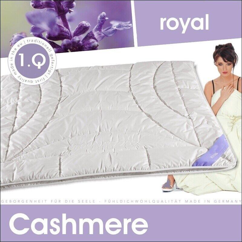 Luxus Cashmere Ganzjahresdecke 100% Kaschmir Decke Steppbett Mono Bettdecke
