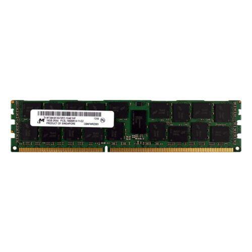 Micron 16GB 2Rx4 PC3L-10600R DDR3 1333MHz 1.35V error-correcting CODICE REG RDIMM MEMORY RAM 1x16G