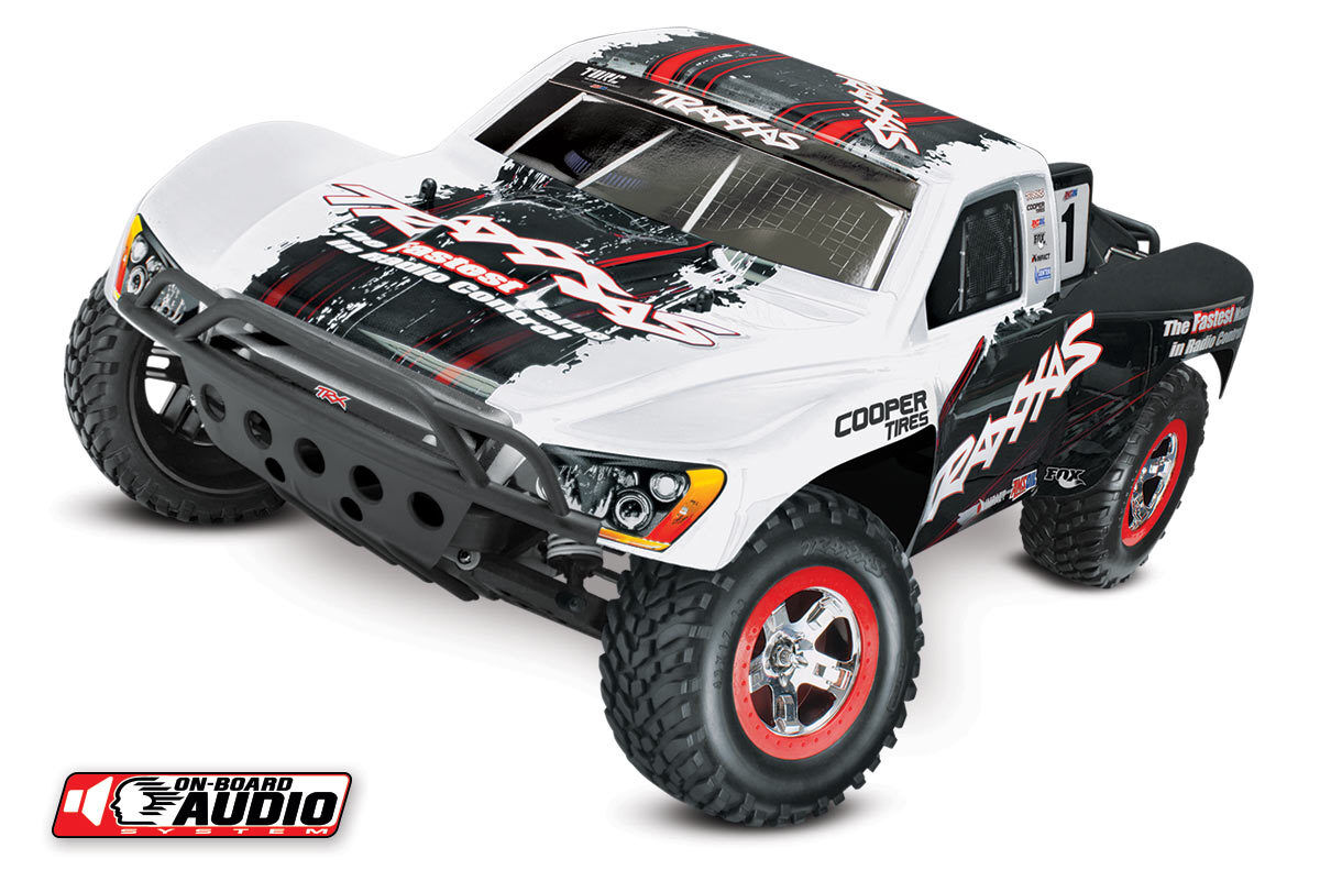 Traxxas Slash 2wd 1 10 RTR Ready To Run w On Board Audio bianca 58034-2