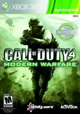 Call of Duty 4 Modern Warfare XBOX 360! WAR, BATTLE, BATTLEFIELD, WEAPONS ACTION