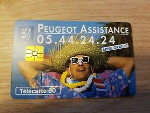 Télécarte - PEUGEOT Assistance  (A8526)