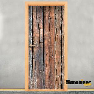 Cabane de porte en bois t rdesign film pour autocollant cran peau ebay - Porte cabane bois ...