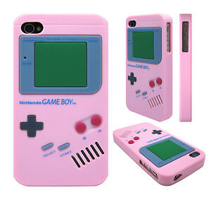 Soft-Silicone-Nintendo-Gameboy-Back-Skin-Case-Cover-for-Apple-iPhone-4s