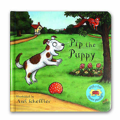 1 of 1 - Pip the Puppy Jigsaw Book, , Very Good
