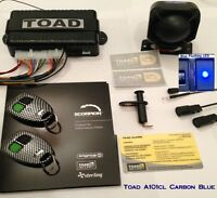 Toad Alarm A101cl Carbon Blue Toad car & van Alarm Toad Car Alarm a101 Blue LED
