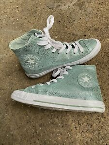 Womens Converse Trainers, Leather Gemma