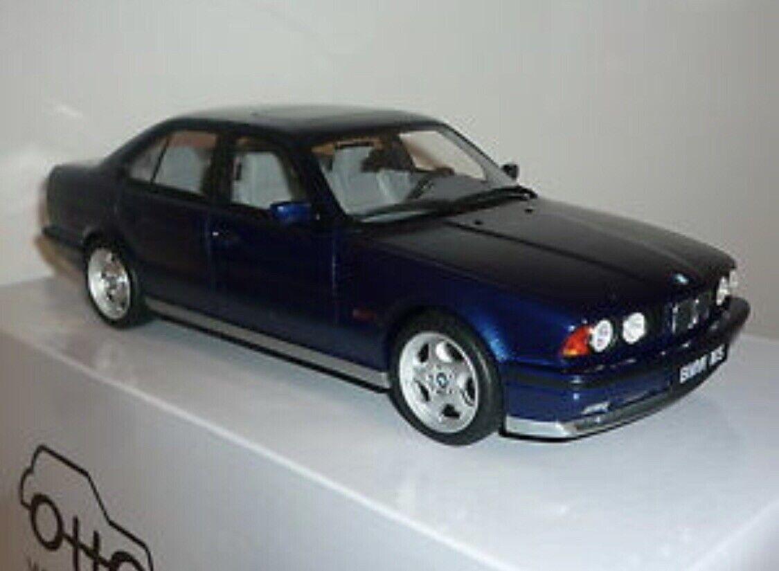 1 18 BMW E34 M5 Avus Bleu Otto mobile Brand New in Box jamais été hors