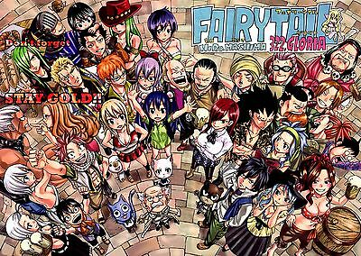 FAIRY TAIL POSTER CARTOON ANIME MANGA POSTER 2 Sizes Available 06