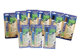 Grout-Pen-ranime-amp-Restaure-carrelage-coulis-anti-moisissure-maintenant-disponible-en-9-Couleurs