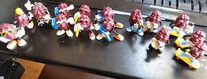 (14) Californa Raisins Vintage Figures