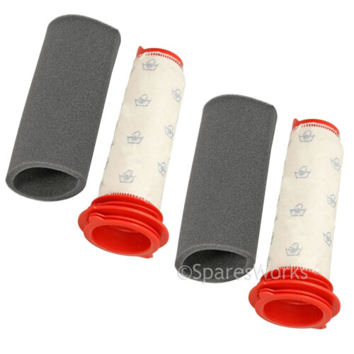 Washable Microsan Stick Foam Filters for Bosch Athlet Cordless Vacuum Cleaner