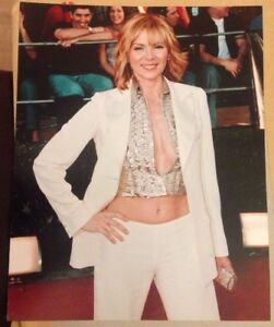 Kim Cattrall 10x8 Glossy Photo Sex And The City & Police ...