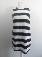 Womens Oasis Stripe Shift Dress Size 16 box5634 E