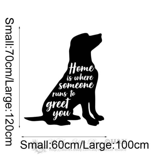 Lovely Dog Wall Art Sticker Kids Nursery Decor Removable Vinyl Decal Art Mural