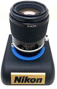 Excellent-Nikon-AI-S-micro-Nikkor-105mm-F-2-8-Camera-Prime-Lens-Manual-Focus