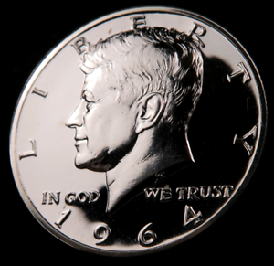 1964 Kennedy Half Dollar Choice Proof