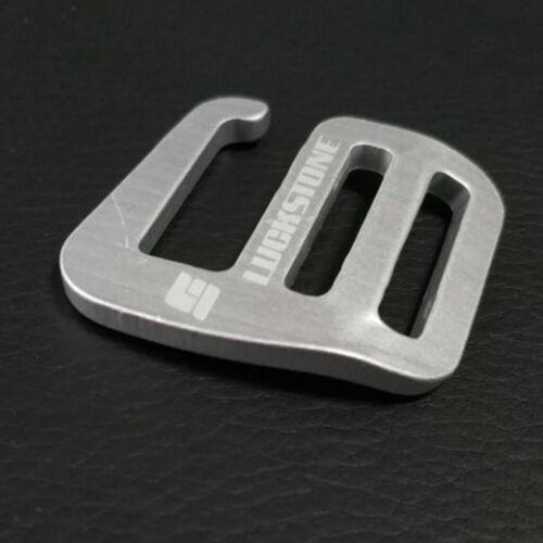 2ST Metall G Haken Gurtband Schnellverschluss für Rucksack Tasche Zubehör