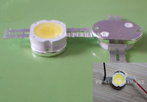 10pcs 10W Round Base LED warm white  Bright High Power  LED Chip 9-12V Bulb Lamp