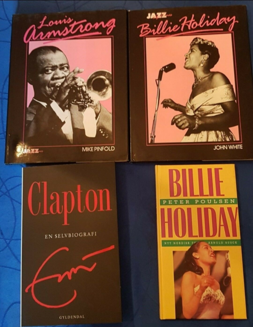 Louis Armstrong, Billie Holiday og Erik Clapton, Diverse,…