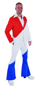 Eurovision Suit - Mr Holland / France - Red / White/ Blue Suit | eBay