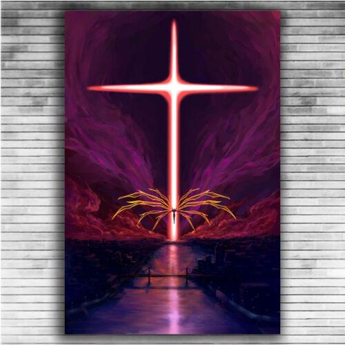 P713 Art Poster Neon Genesis Evangelion EVA Hot Classic Japan Anime