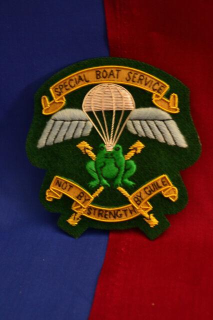 Special Boat Service (SBS) Blazer Badge Old design