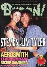 Burrn! Heavy Metal Magazine September 1998 Japan Aerosmith Angra Night Ranger