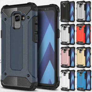 Shockproof Hybrid Armor Case Cover For Samsung Galaxy S6 S7 edge S8 S9 Plus S5