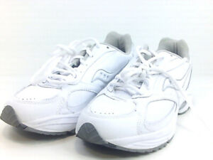 Saucony Mens T5ZEM4 Fashion Sneakers, White, Size 8.5 bWNm