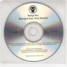 (GJ546) Rufige Kru, Shanghai Dub / Ever Wanted - 2009 DJ CD