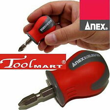 ANEX 1580-P Stubby Screwdriver Mini Short  A replacement drive that can be used