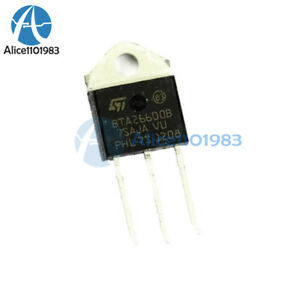2PCS-BTA26-600B-TRIAC-BTA26600B-STM-TOP-3L-IC