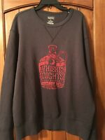 Cremieux Whiskey Nights L/s Mens Sweatshirt Kentucky Moonshine Shirt Bounty 2xl