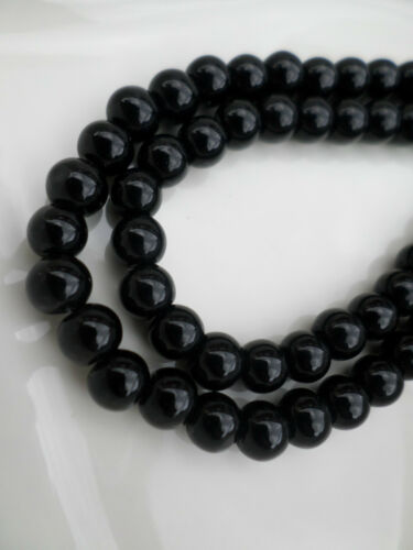 300 x Glass Beads 6mm Various Colours Available Round