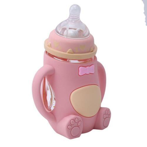 Baby Milk Water Bottle Cup Small Feeding Bottle Infant Nursing Nipple Pacifier T