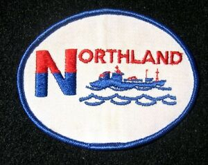 NORTHLAND-PATCH-ALASKA-MARINE-FREIGHT-TRANSPORT-FISH-BOAT-COLLECTIBLE-3-7-8-034-x-3