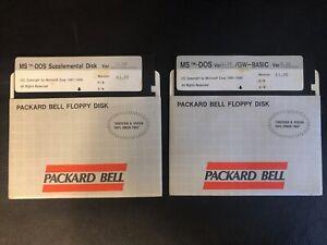 MS-DOS 2 Diskette Lot PC IBM / IBM PC Computers