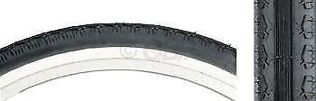 Kenda K130 Cruiser Tire 26x2.125 Steel Bead Black//White