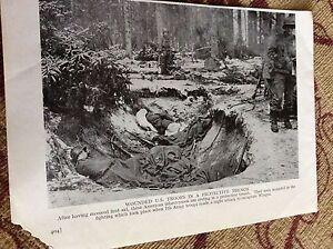 m11f-ephemera-ww2-picture-1940s-wingen-u-s-troops-in-trench