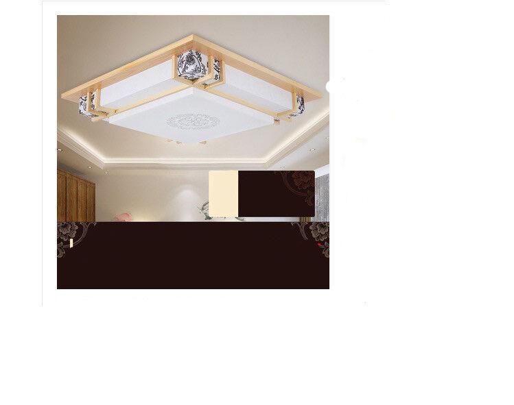 D545 European Modern Square Diameter 53CM Decorative Ceiling Light Lamp O
