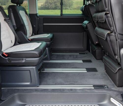 a partire dal 2011 Velluto tappeto abitacolo VW t6//t5 CALIFORNIA BEACH con 3er-Bank